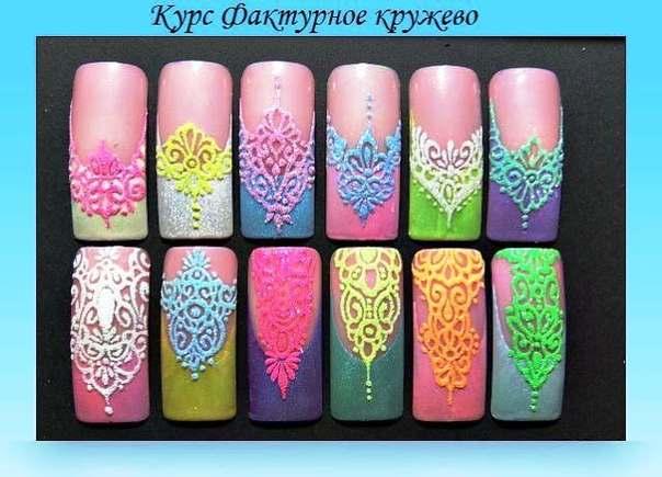 Дизайны ногтей с песком пошагово